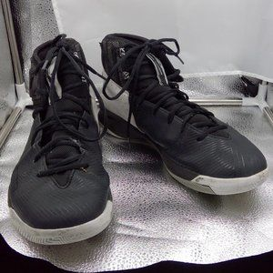 Black Mens Under Armour Sneakers Size 10.5